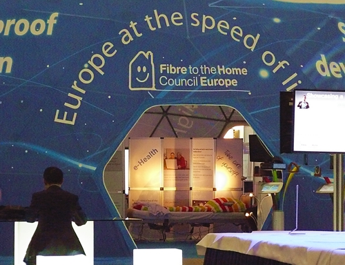 FTTH Council Europe tent